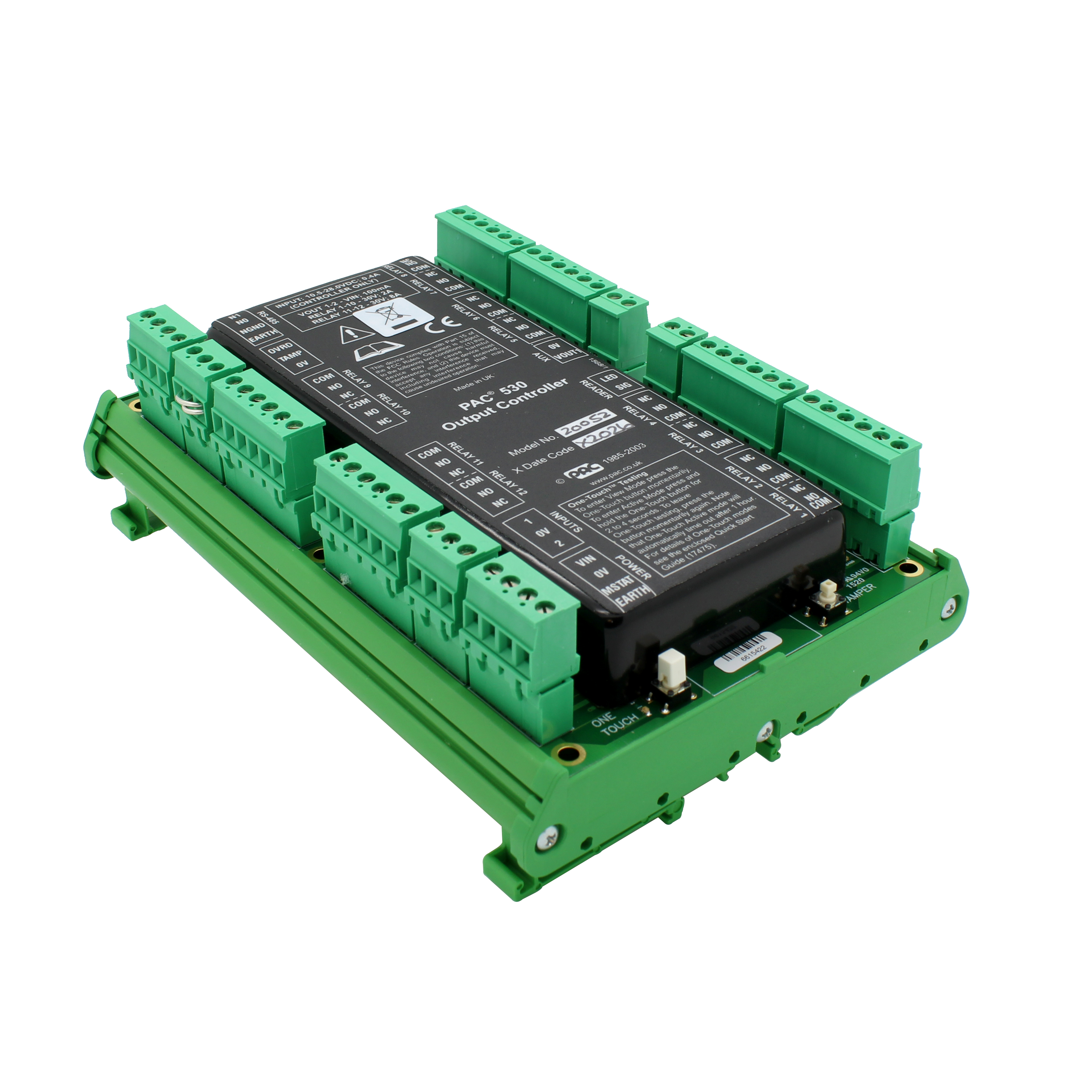 PAC 530 output controller - DIN mount
