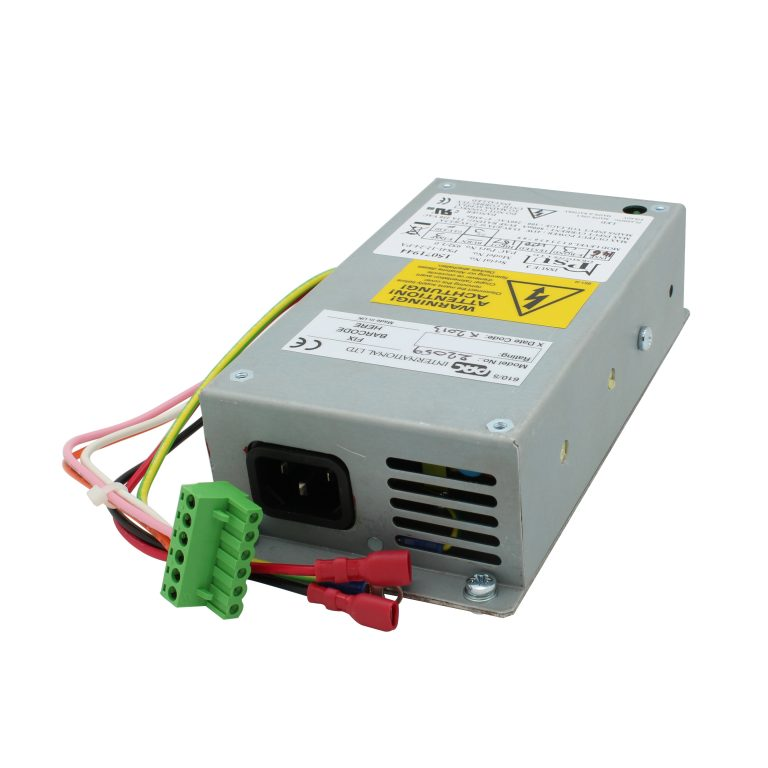 DIN rail PSU with battery charger - output 12/24VDC at up to 3Amps