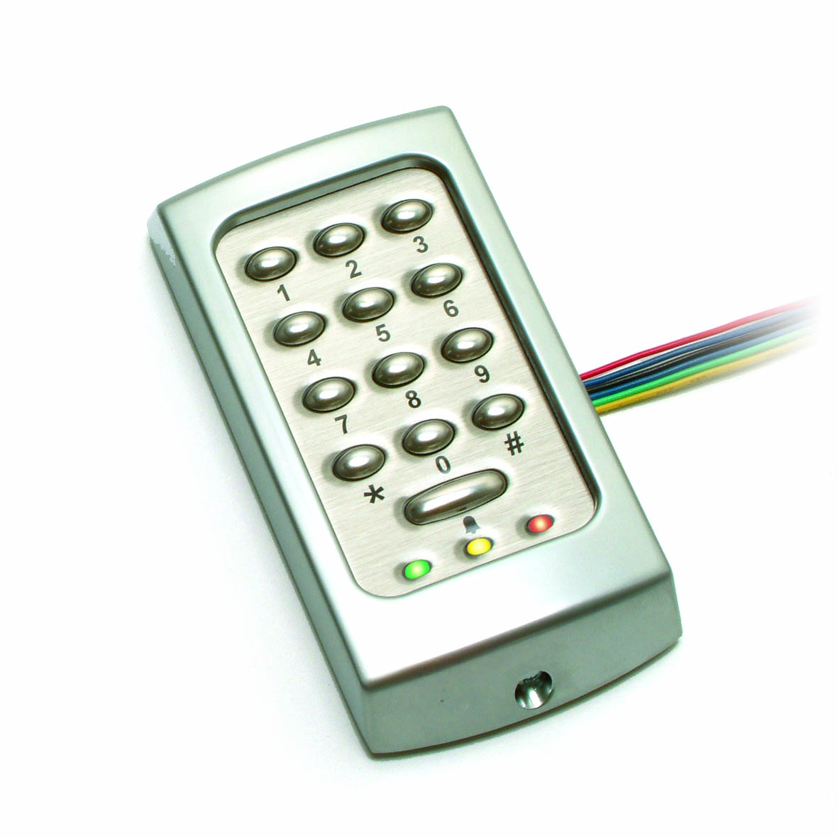 Compact TOUCHLOCK stainless steel keypad - K50