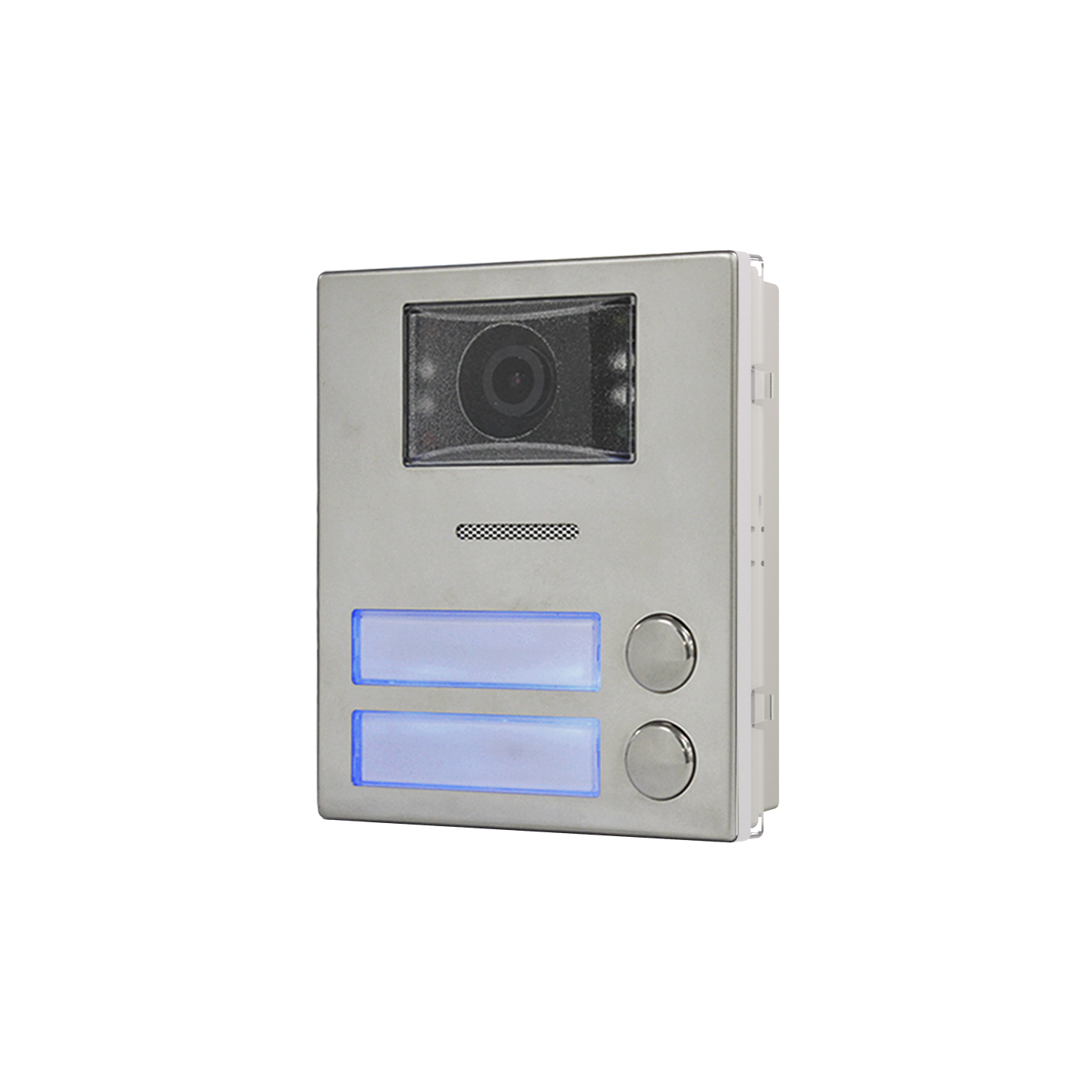 2 button 4000 Series IP colour video/speaker module