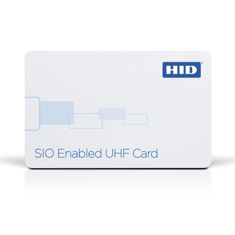 SIO® Enabled UHF Technology Smart Card
