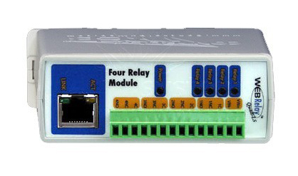 External IP Relay - 4 outputs
