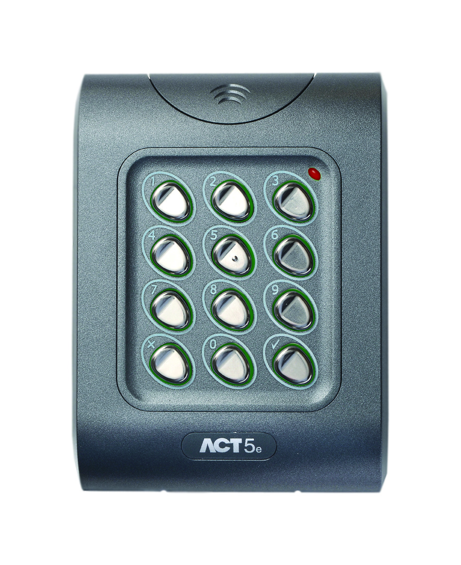 ACT 5E Pin and prox Keypad