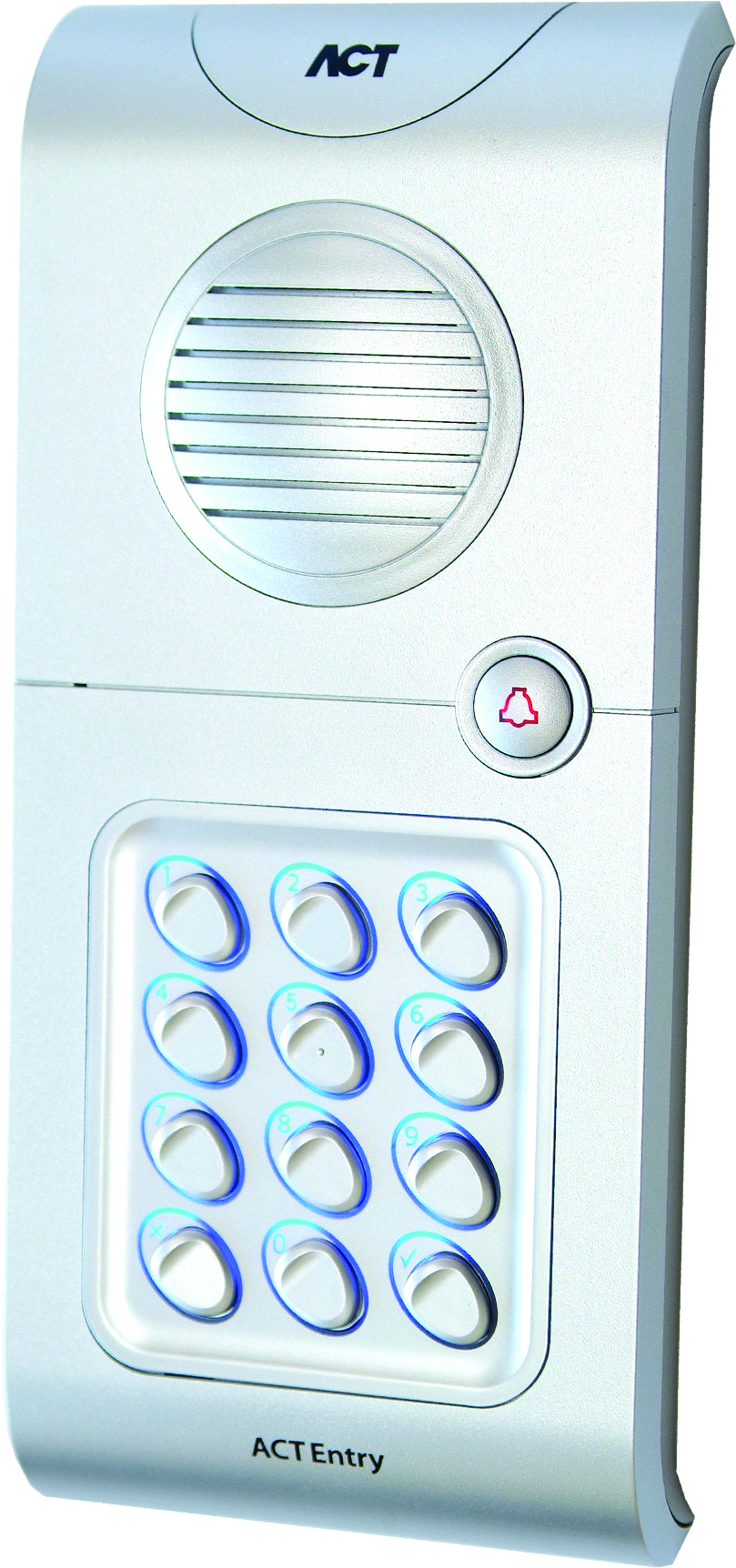 ACT5A kit Digital keypad with built-in audio entry panel and intercom