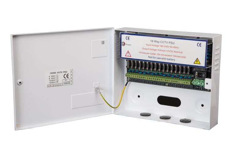CCTV and other systems that require a 12V output with no battery backup