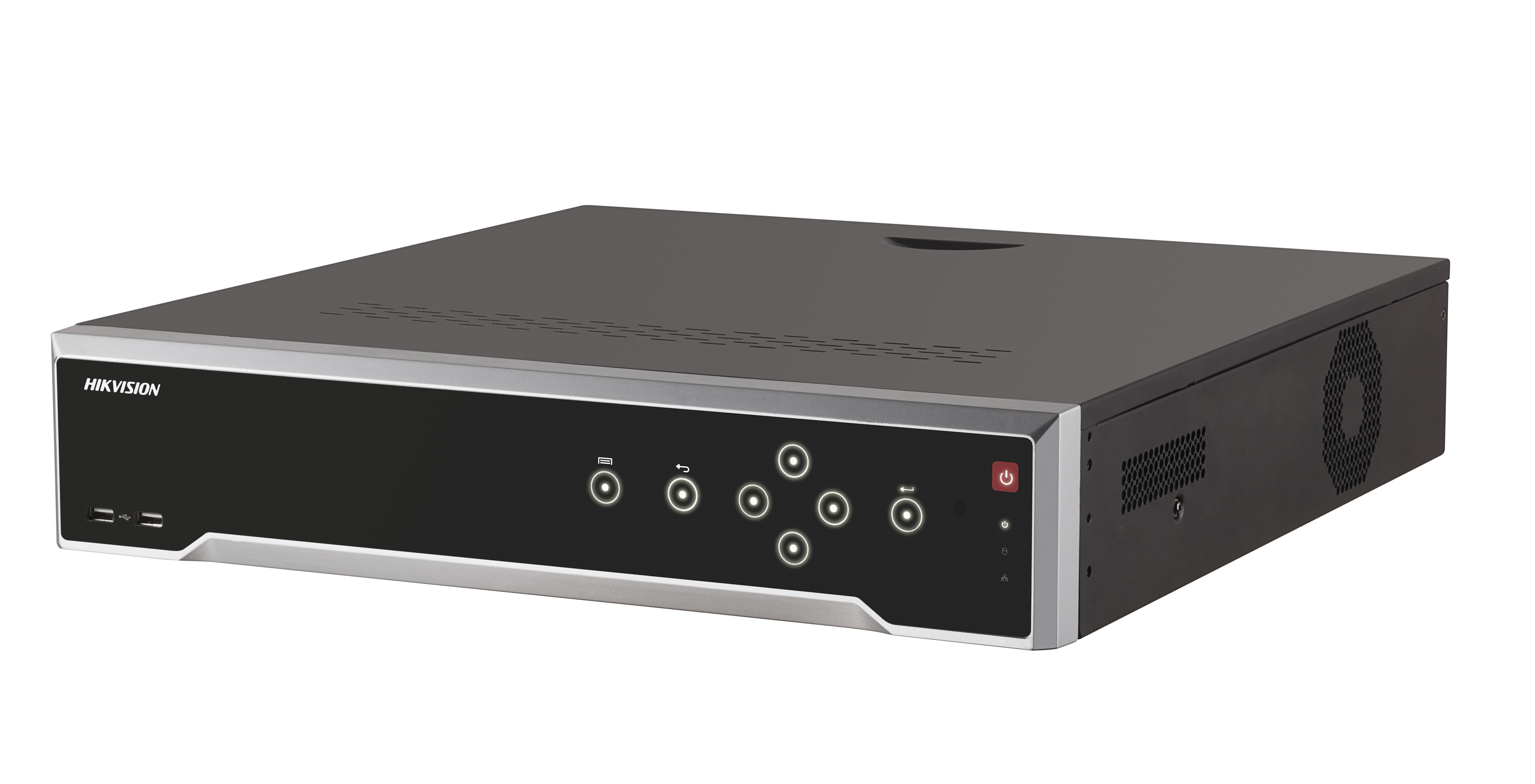 "16 Channel Cost-Effective 4K NVR 1.5U 19"" case"