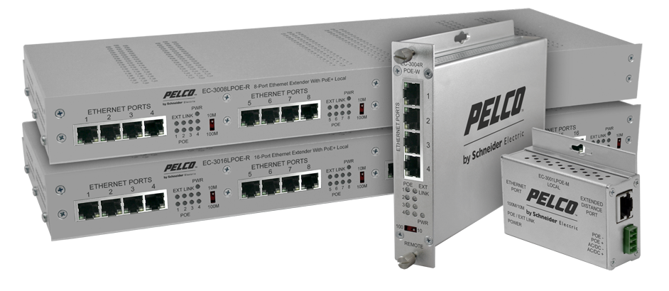 16 Port Ethernet over Coaxial Extender