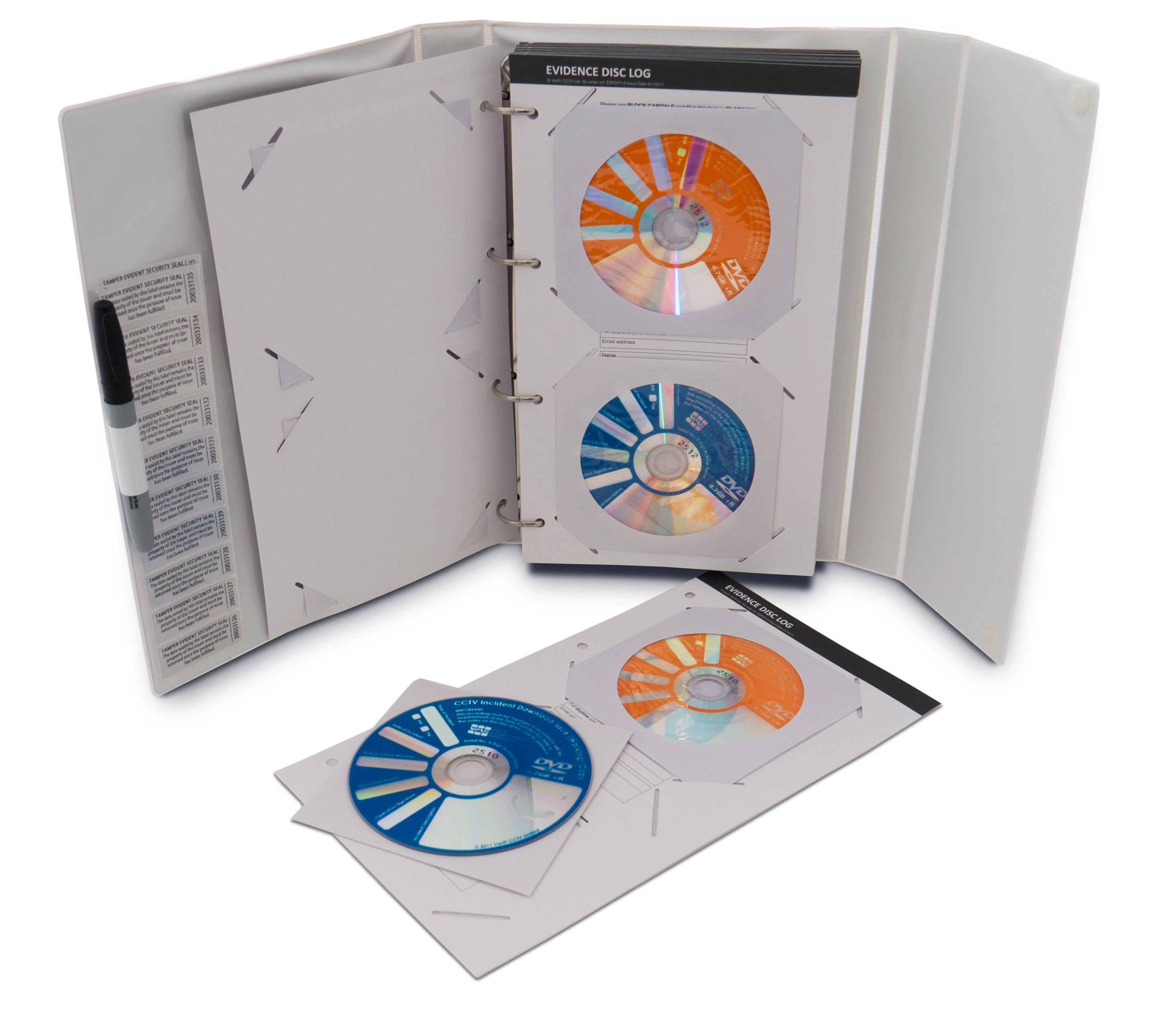 Paperless CD Evidence Download Pack