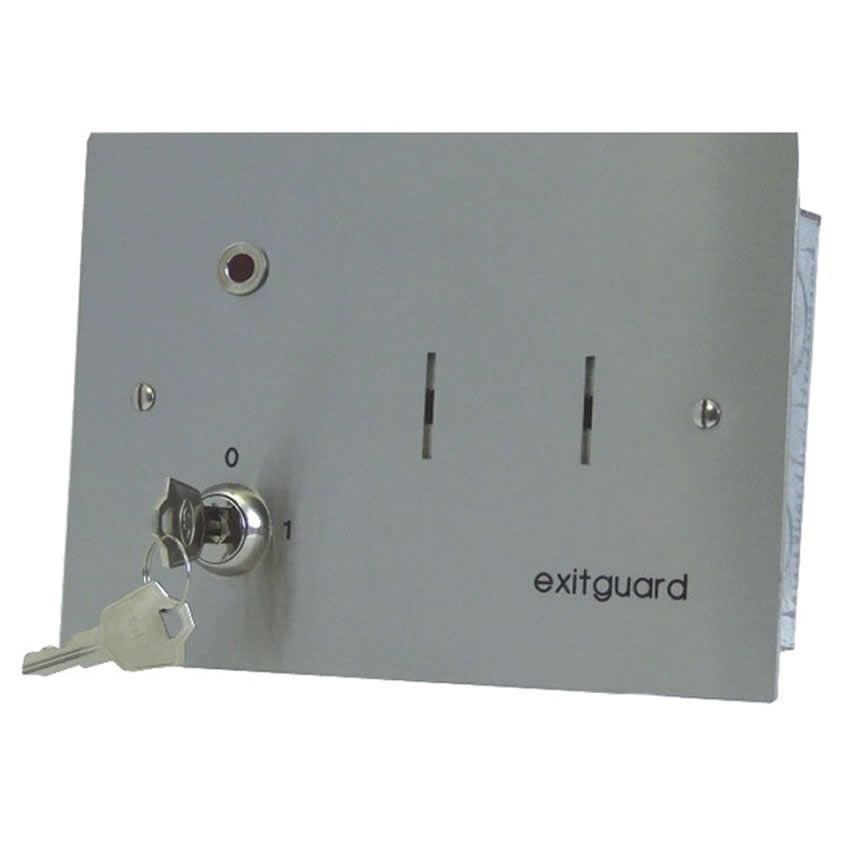 Emergency Exit Door Alarm 12VDC powered - Key switch Control