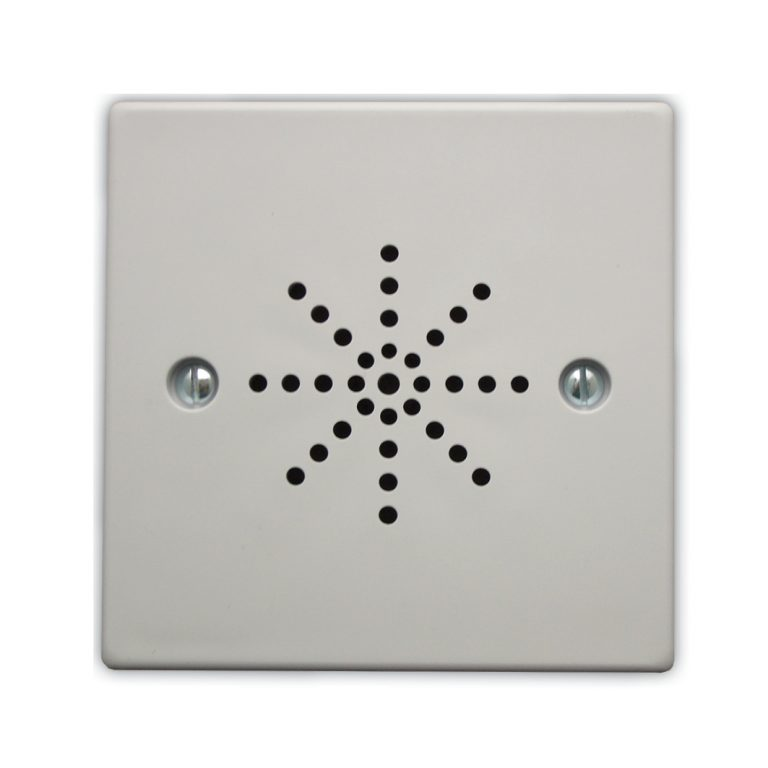 Flush Extension Speaker - White Plastic