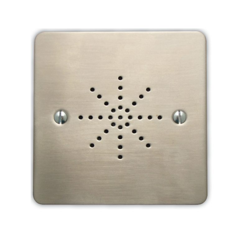 Flush Extension Speaker - Stainless Steel