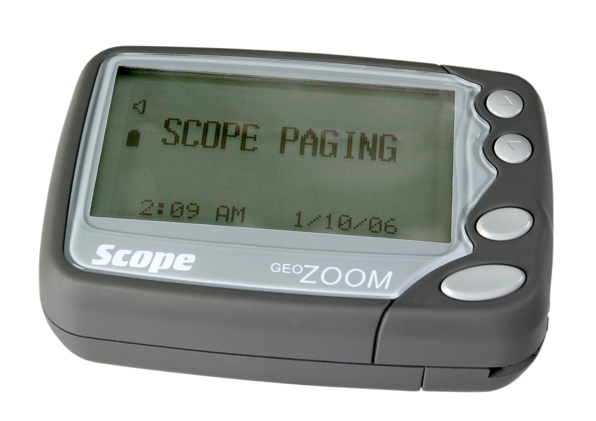 GEO Zoom rechargeable pager