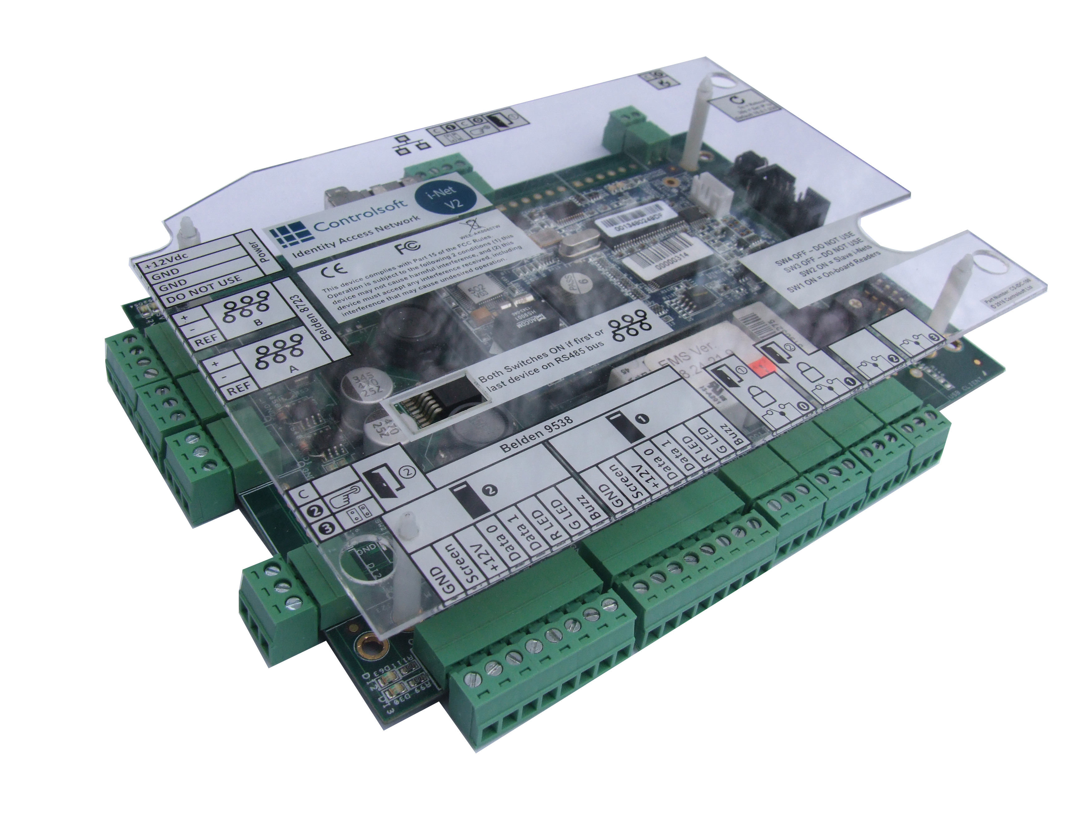 Identity Access Controller PCB