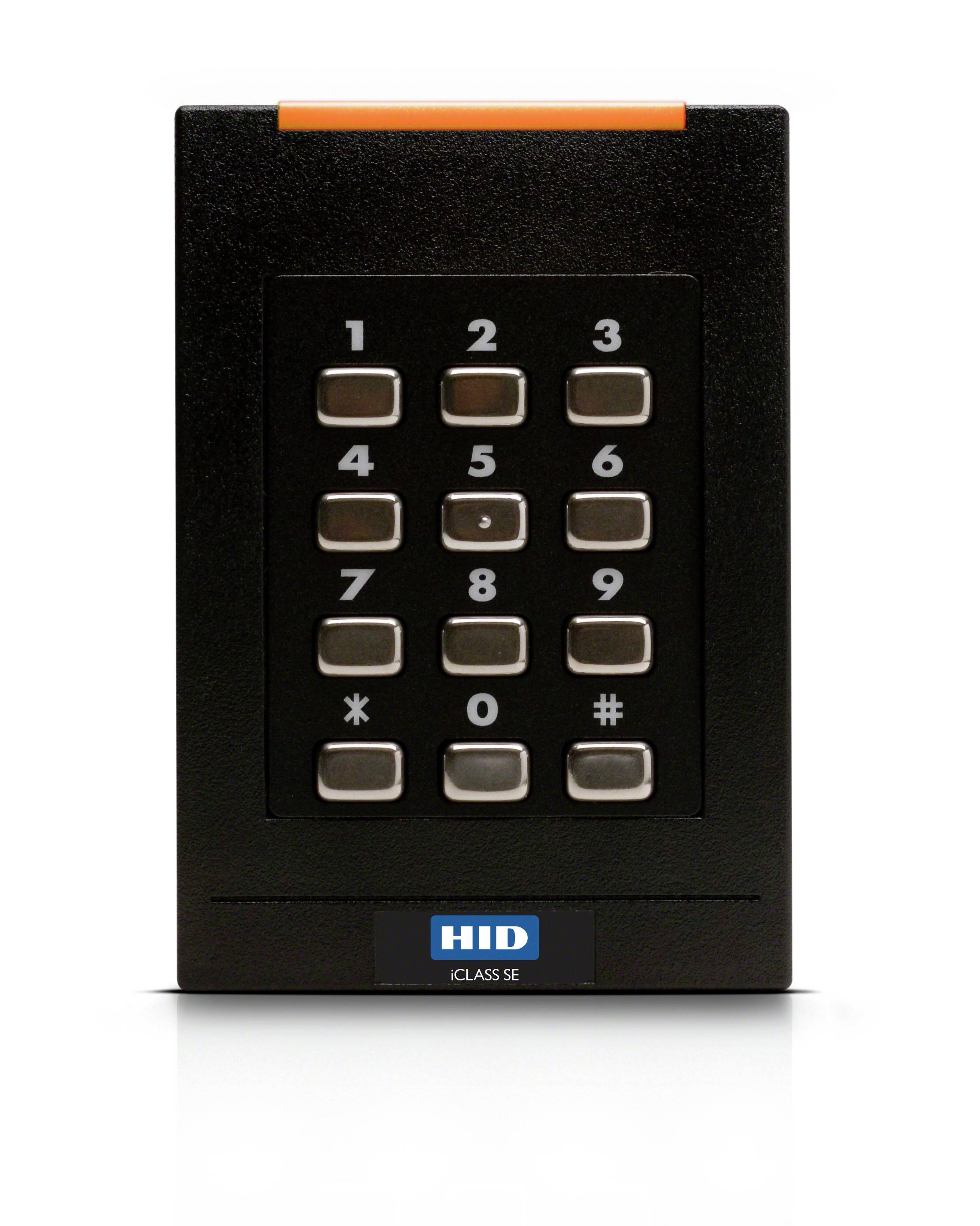Identity Access Single Gang iCLASS Keypad Reader.