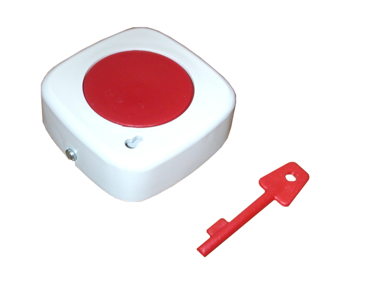 Single Centre Push Panic Button (Latching)