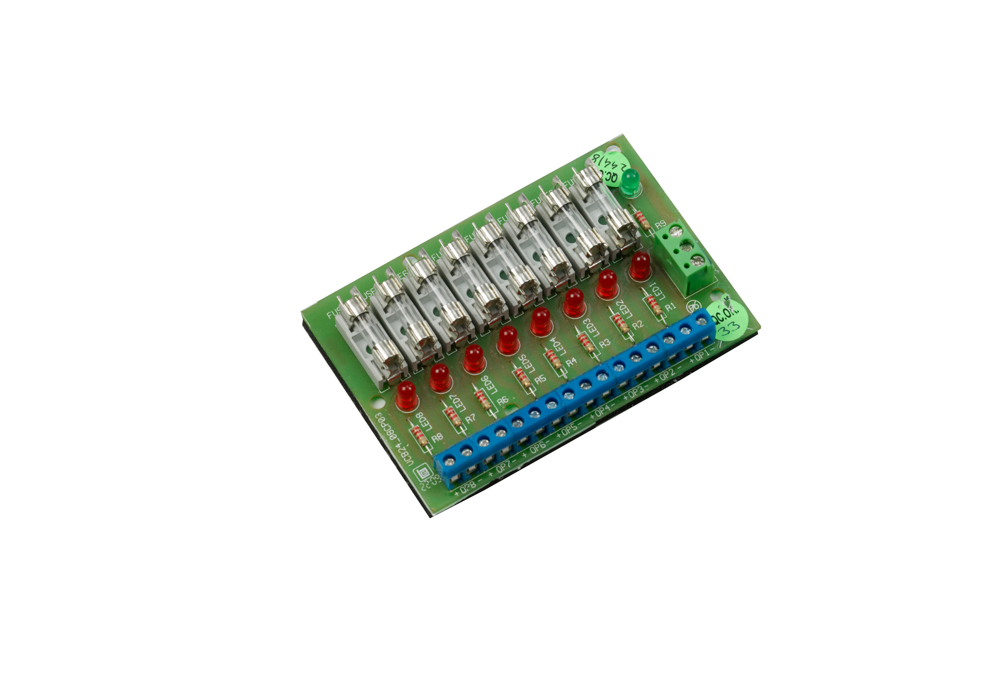 Fused output board