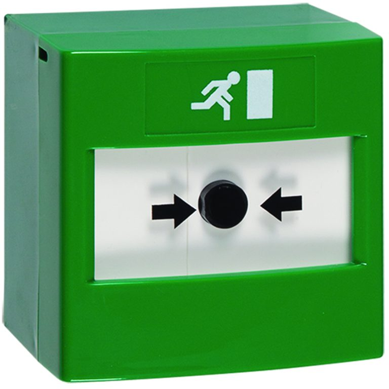 ReSet Call Point - Green Emergency Exit