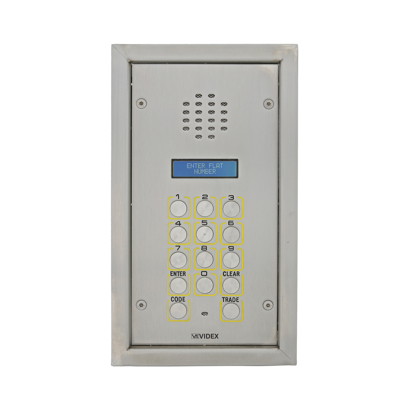 Vandal Resistant Digital Audio Panel for VX2200 system