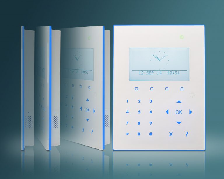 Compact Keypad with graphical display