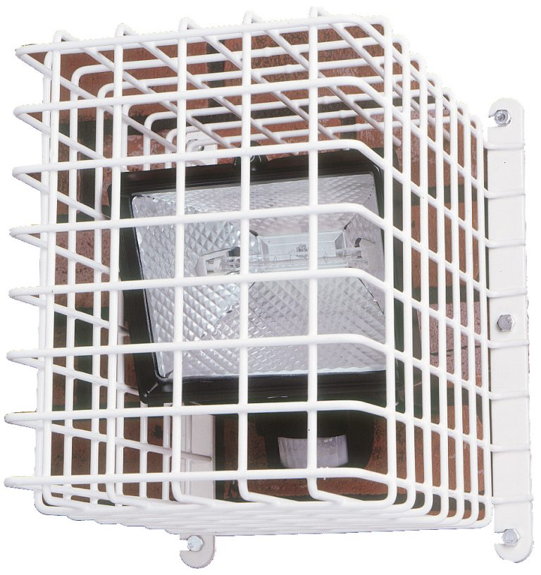 External Lighting and CCTV Cage