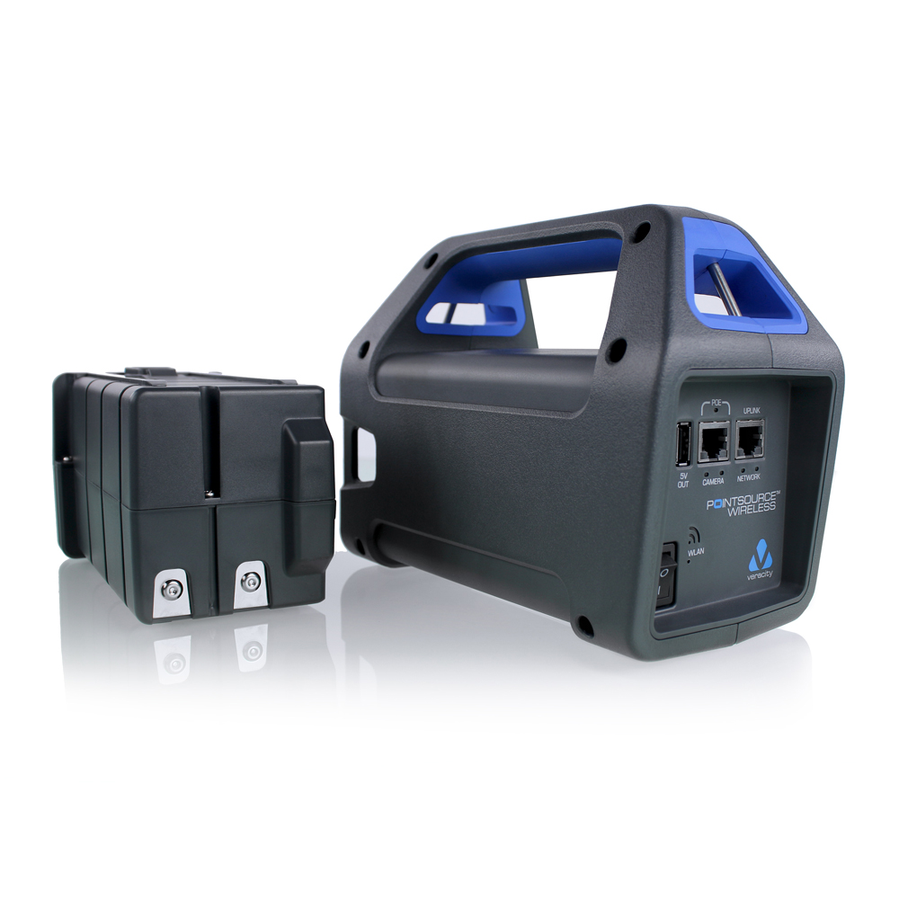 Pointsource Wireless A Portable Battery Powered Poe