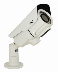 3MP Bullet Camera with Built-in IR Illumination and Remote Set up Motorised Lens