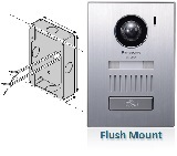Optional Door Station (Flush mount)
