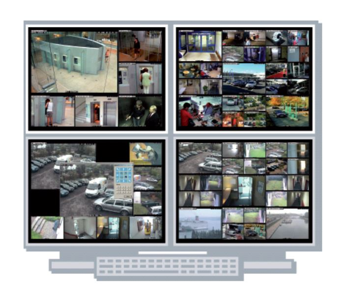Smart video wall software
