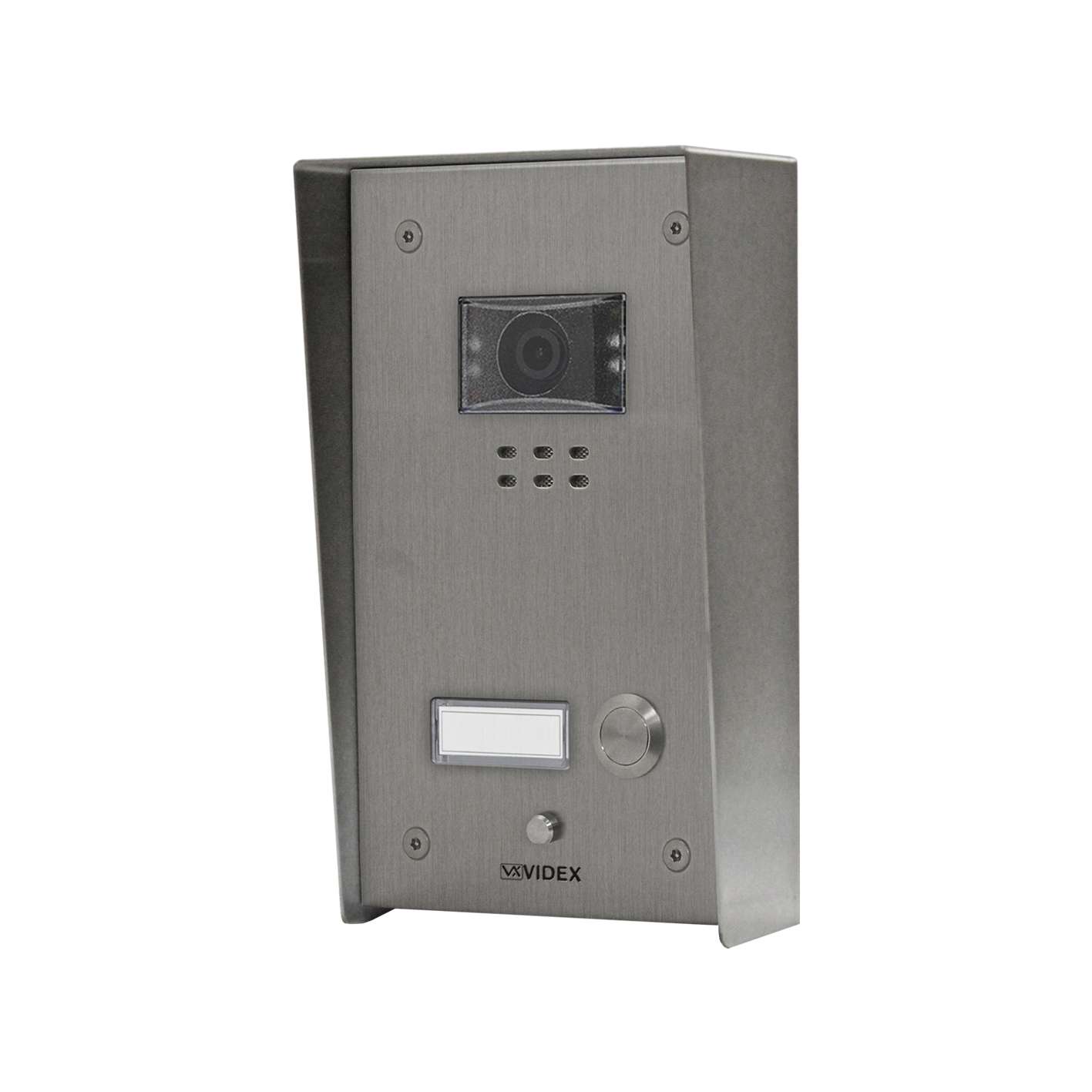 1 button with nameplate Vandal Resistant IP Colour Video Panel (surface)