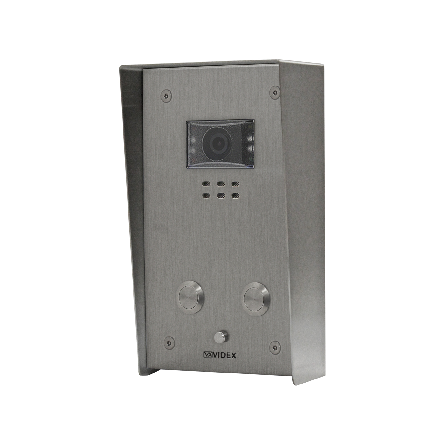 2 button Vandal Resistant IP Colour Video Panel (surface)