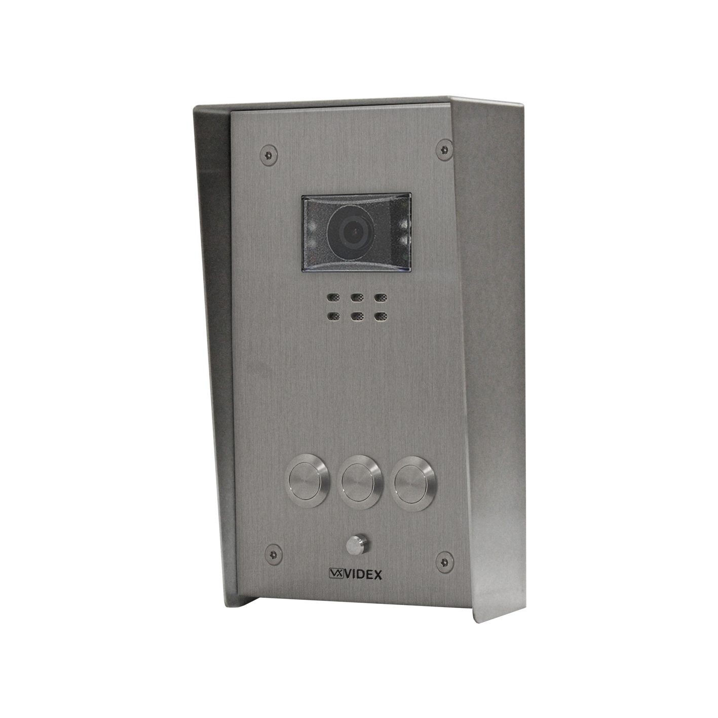 3 button Vandal Resistant IP Colour Video Panel (surface)