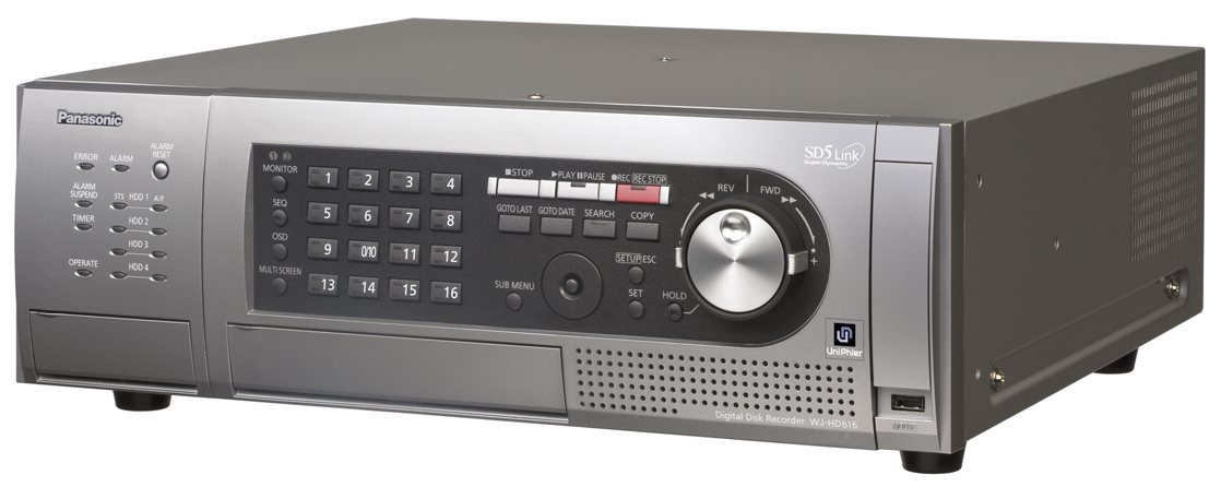 16ch Real-time H.264 Digital Disk Recorder