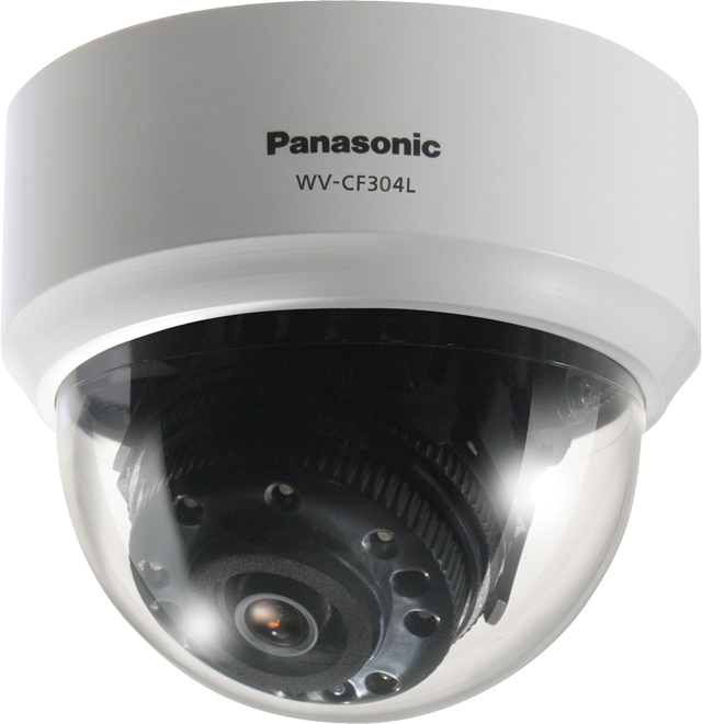 Day/Night Fixed Dome Camera with IR LED and advanced features