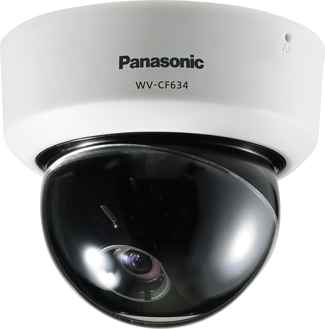 Smart look Day/Night Fixed Dome Camera featuring Super Dynamic 6 technology