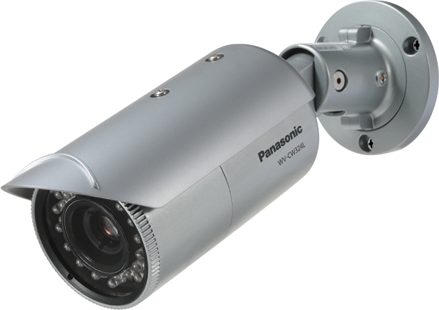 Weather Resistant Day/Night Fixed Camera with IR LED and advanced features