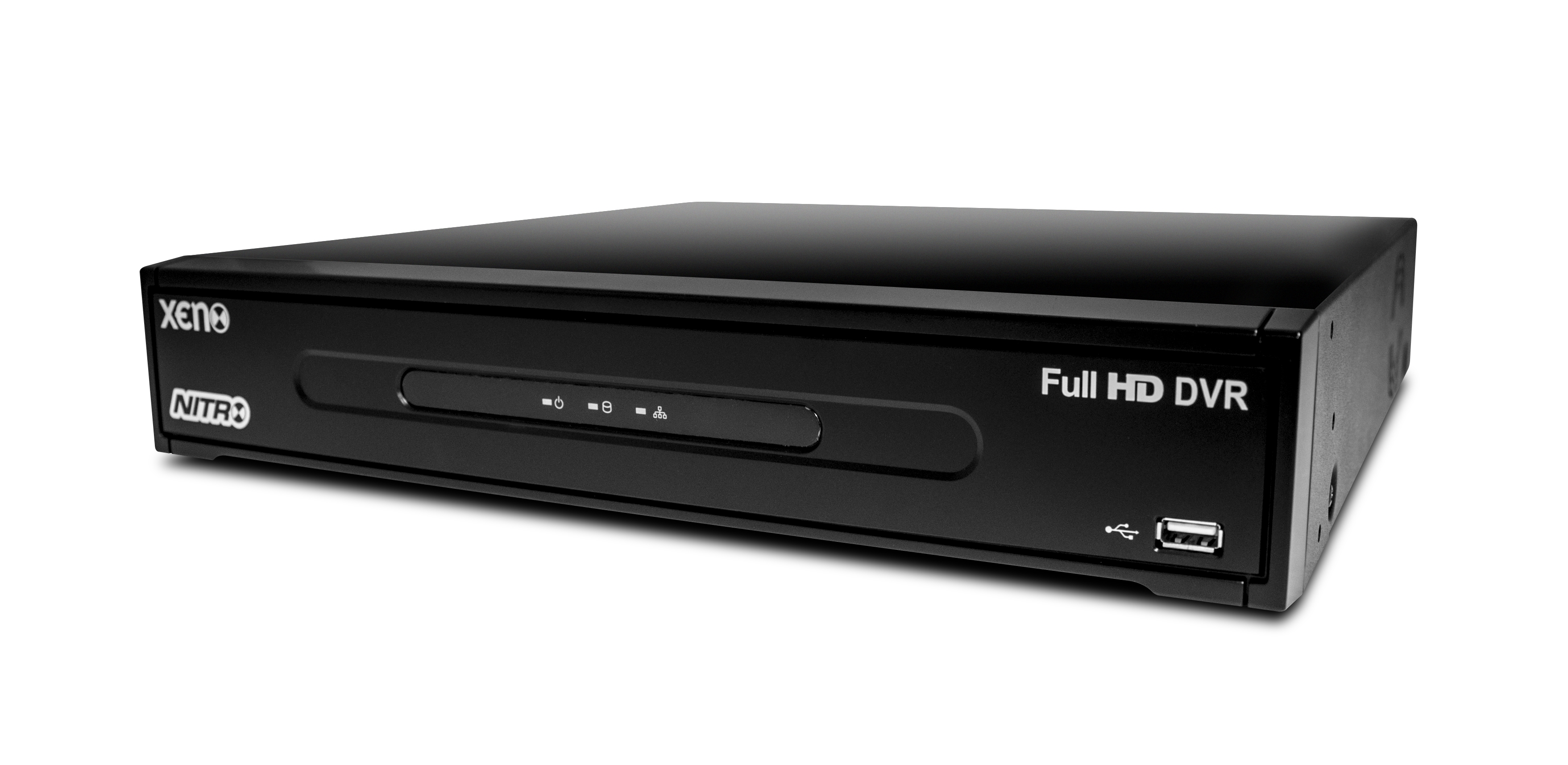 16 Ch. Full HD real-time analogueue DVR - 8TB