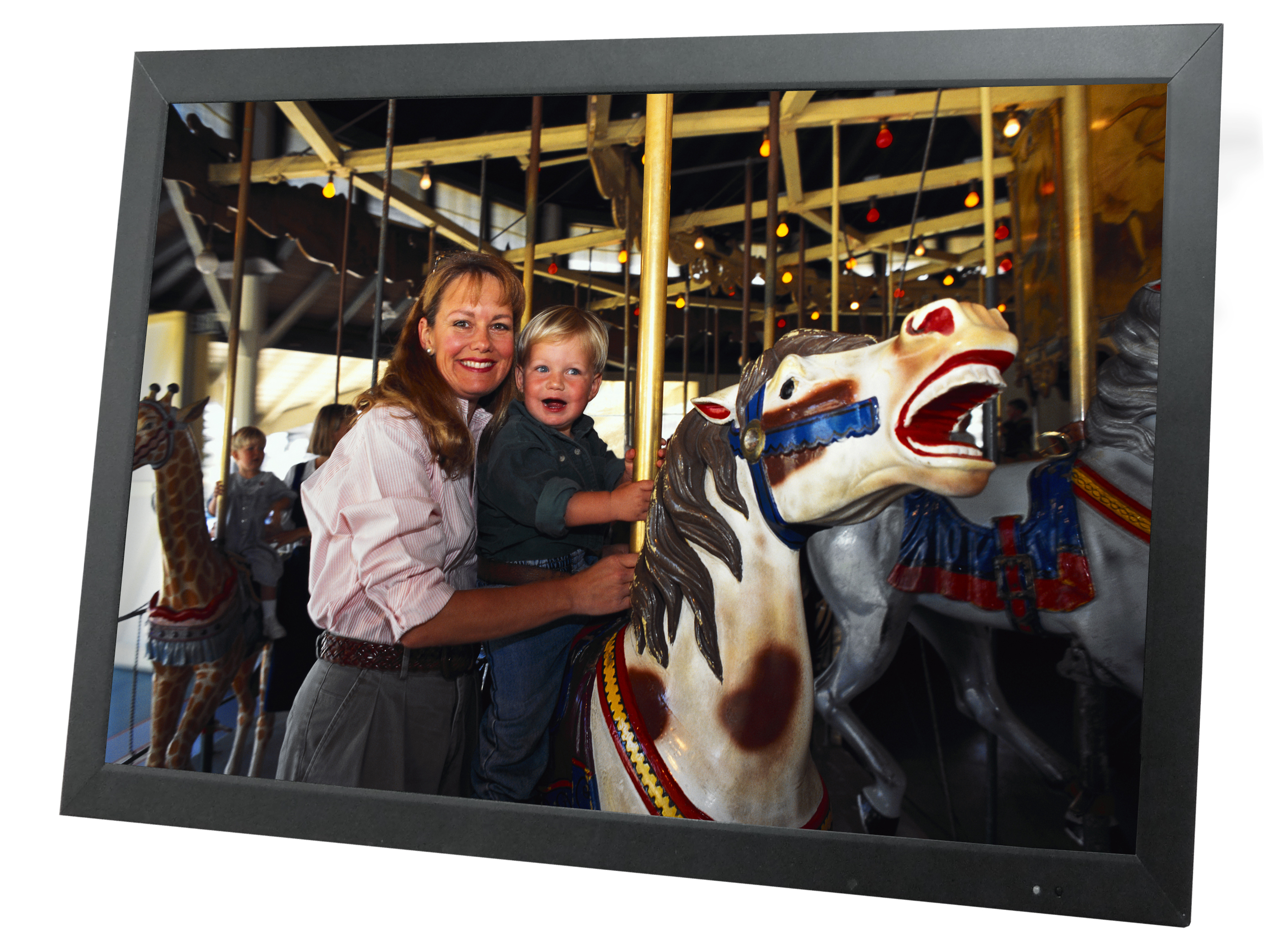"L215AT 21.5"" TFT LCD Full HD Wide Screen Colour Monitor with an LED backlit panel"