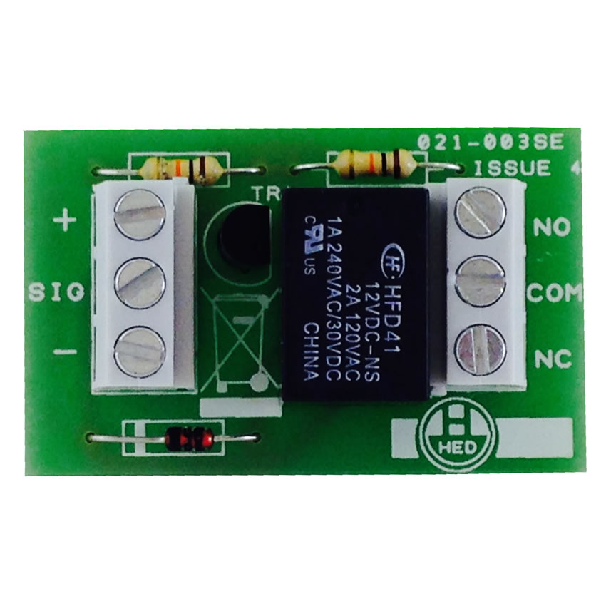 Transistorised single pole relay module