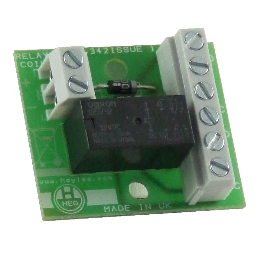 Double Pole Relay Module