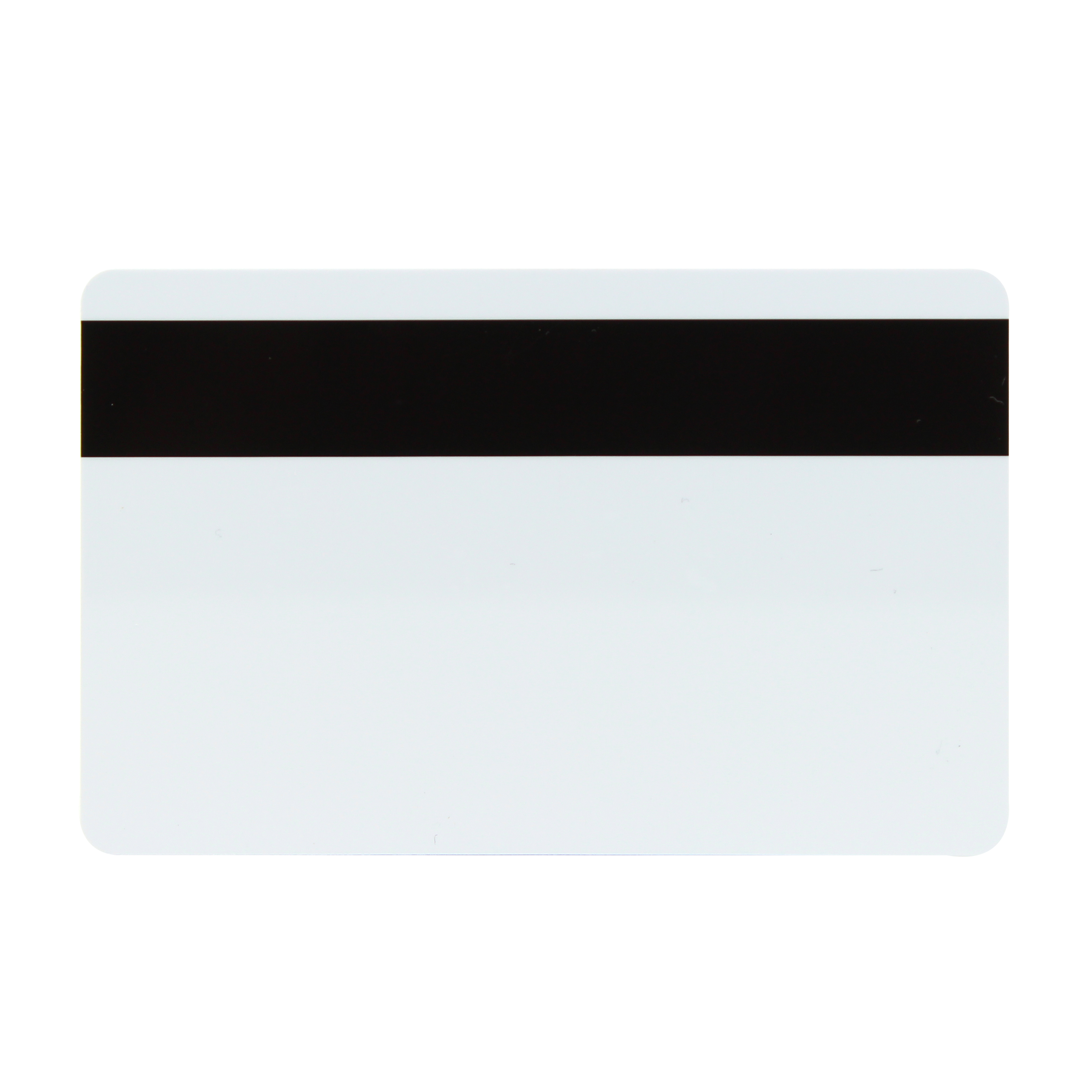 PAC Magnetic stripe card encoded ISO track 2 - white