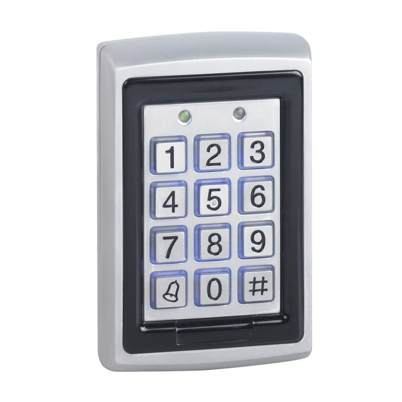 Surface weatherproof standalone keypad