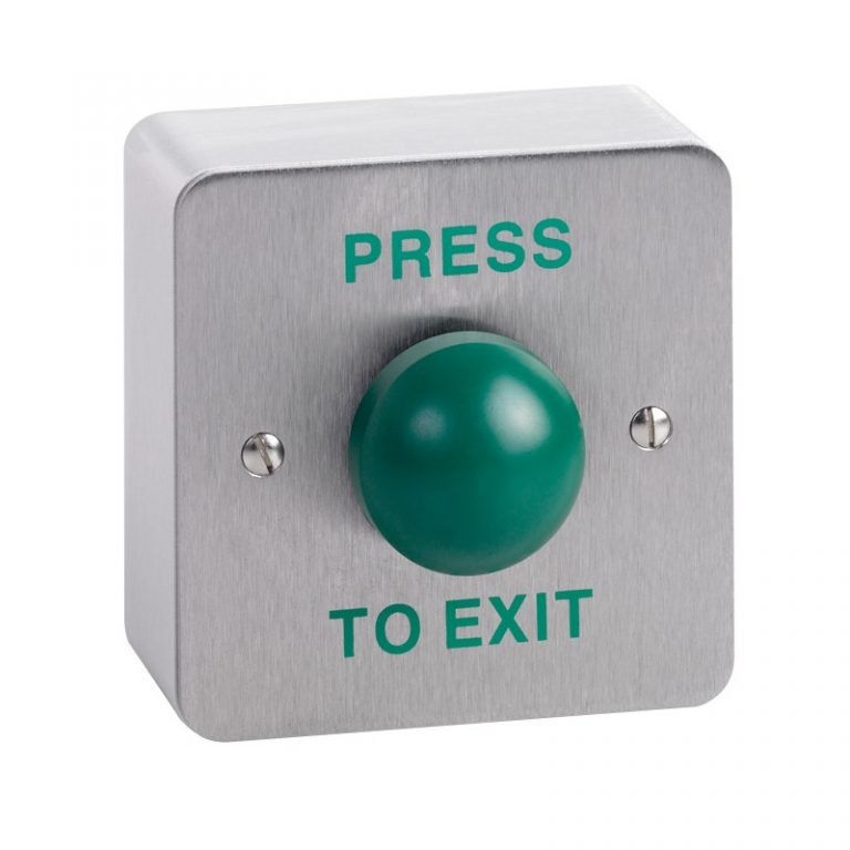 Surface mount green dome button