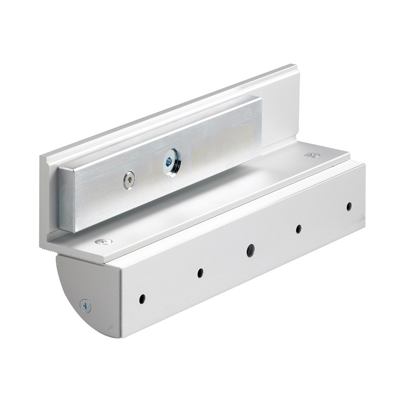 Z & L bracket set with integral cover for 272kg maglock