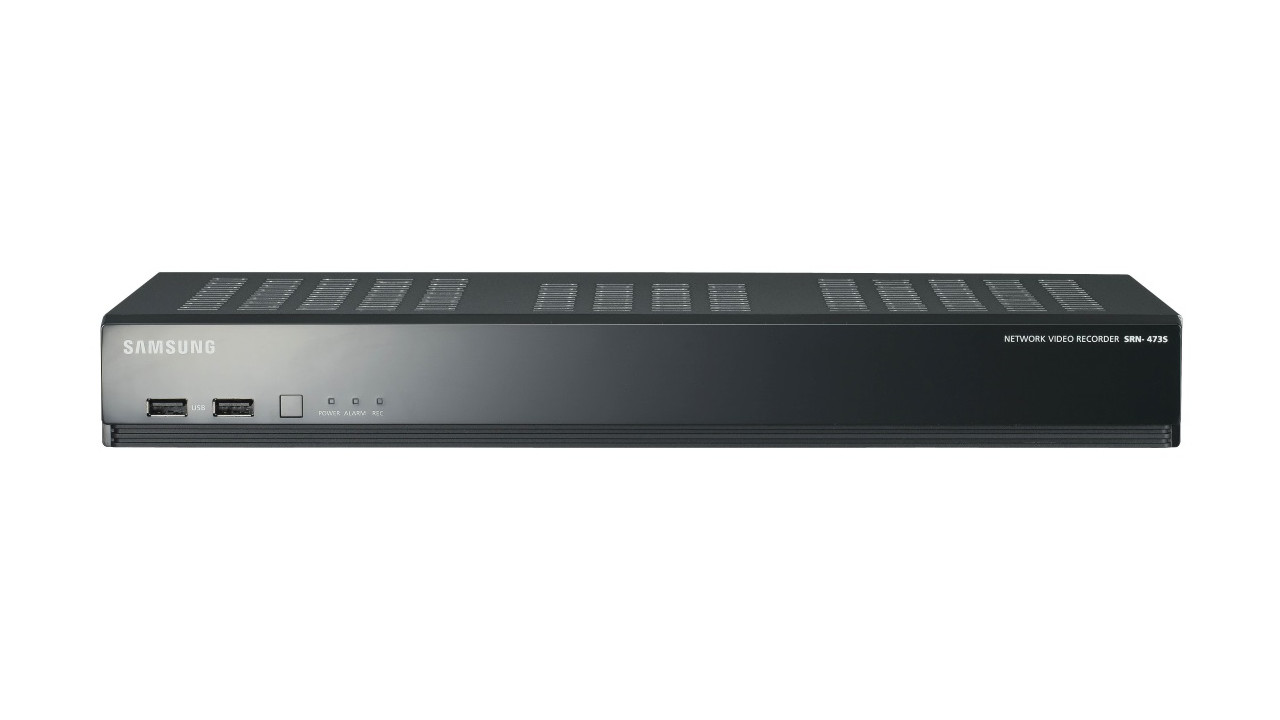 4 Channel Network Video Recorder with PoE Switch - 1TB