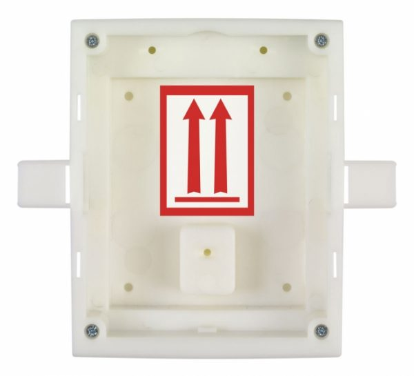 IP Verso / Access Unit - Flush Installation Backbox for 1 Module