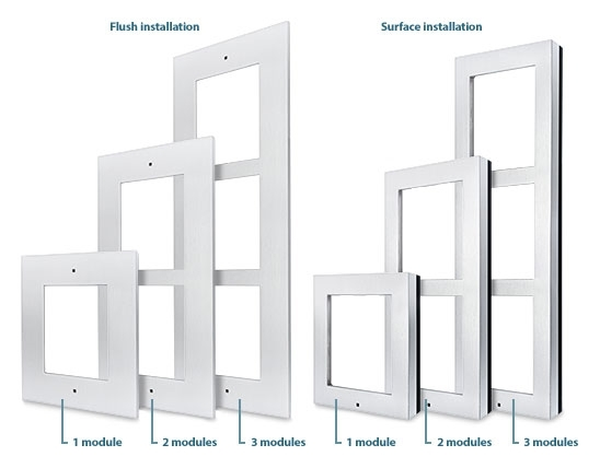 IP Verso Intercom - Surface Installation Frame for 1 Module