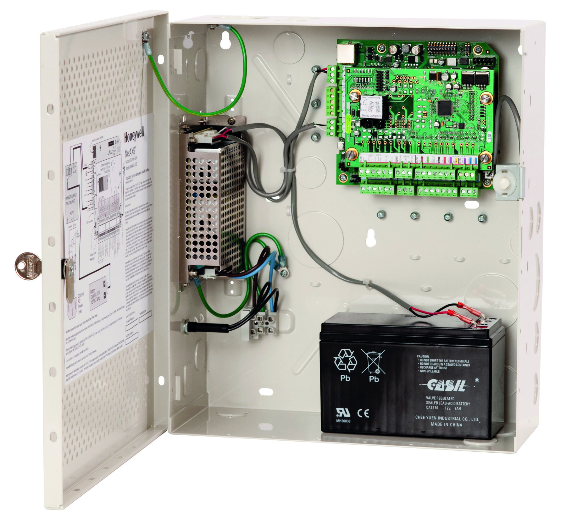 Honeywell Commercial Security Honeywell Web-Based Access ... on