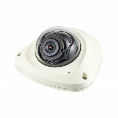2MP Network Vandal Flat Dome Camera with M12 Connector