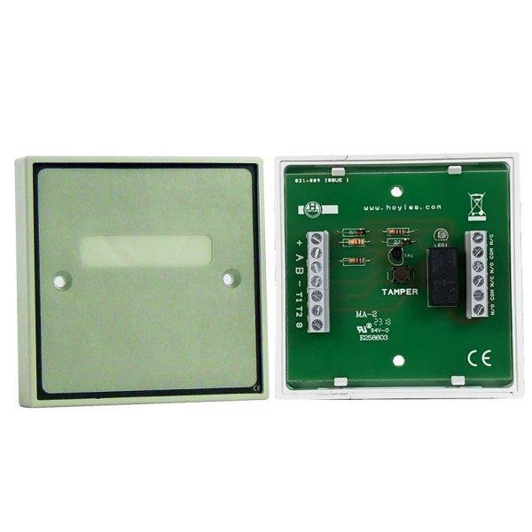 Boxed transistorised DPCO relay module NPN version 12vdc