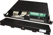 SecurePoE 1U Rack-mount 4x 30W Gigabit PoE+ with 5-Port switch